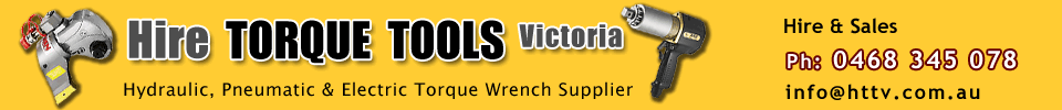 Hydraulic Torque Wrench - Hire Torque Tools Victoria